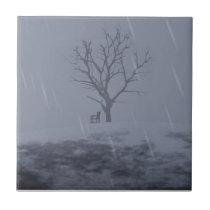 Winter's Chill Decorative Tile