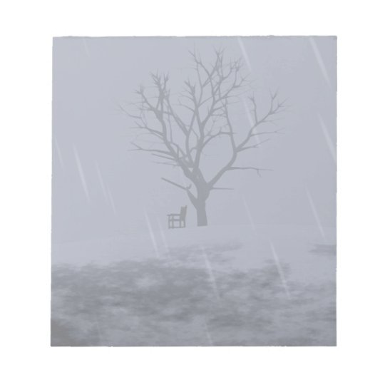 Winter's Chill Notepad