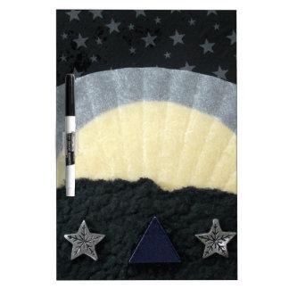 Winter's Dawn - collage Dry Erase Boards