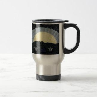 Winter's Dawn - collage Travel Mug