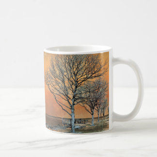 Winter's Dawn Classic White Coffee Mug