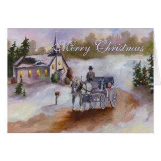 Winters Dream Christmas Card
