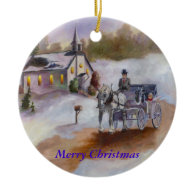 Winters Dream Christmas Ornament