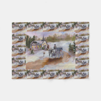 Winter's Dream Fleece Blanket
