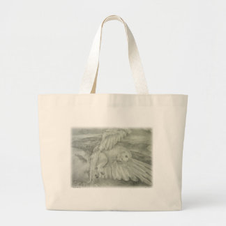 'Winter's Dream' Large Tote Bag