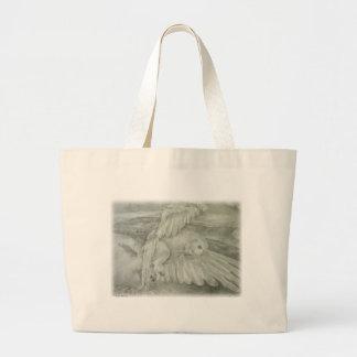 'Winter's Dream' Large Tote Bag