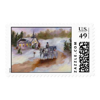 Winters Dream postage