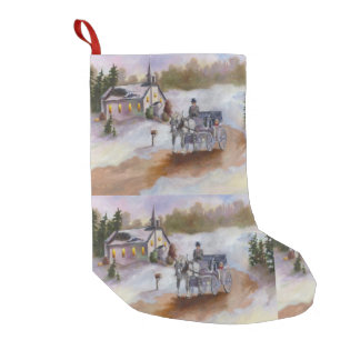 Winter's Dream Small Christmas Stocking
