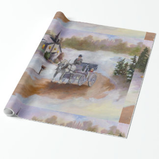 Winter's Dream Wrapping Paper