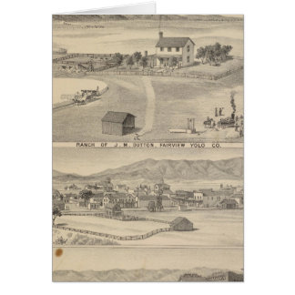 Winters Dutton ranch Greeting Card