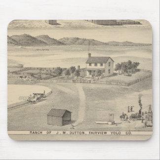 Winters Dutton ranch Mousepads