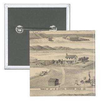 Winters Dutton ranch Pinback Button