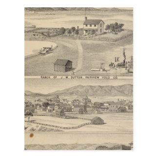 Winters Dutton ranch Postcards
