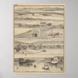 Winters Dutton ranch Print