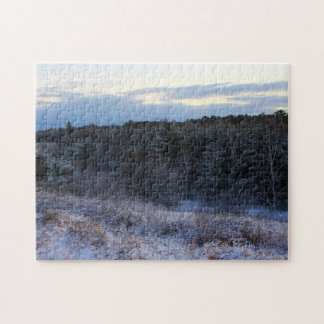 Winter's Early Morning Landscape Jigsaw Puzzle