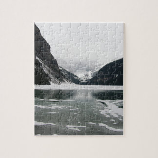 Winter's End, Lake Louise Jigsaw Puzzle