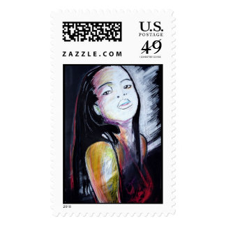 Winter's End Postage Stamp