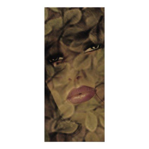 Winter's Face Custom Rack Card