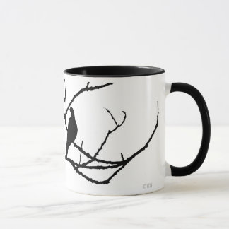 Winter's Hand And Spring's Dove Mug