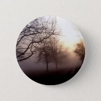 Winters landscape pinback button