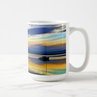 Winter's Last Sunset 3 Coffee Mug
