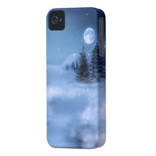 Winter's Night iPhone 4 Case-Mate Cases