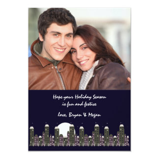 Winter's Night - Photo Holiday Card
