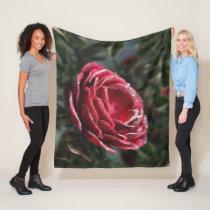 Winter's Parting Gift Fleece Blanket
