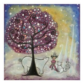 Winter's Queen Poster