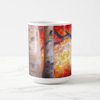 Winter's Reflection Classic White Coffee Mug