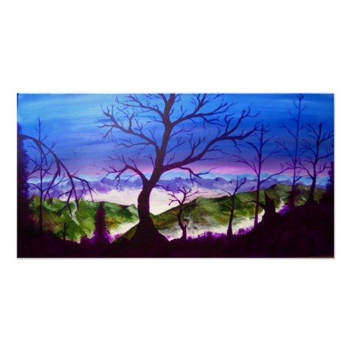 Winters Sunset Print