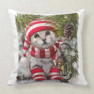 """Winter's tale"" Throw Pillow"