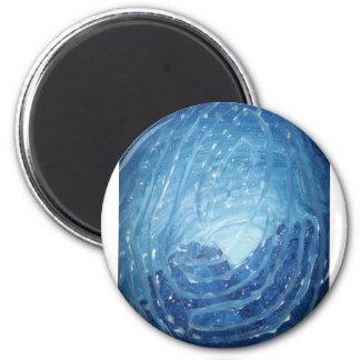 Wintersblueprint 2 Inch Round Magnet