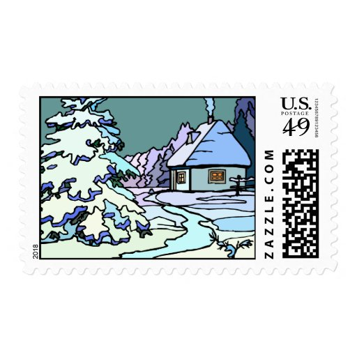 Winterscape Stamps