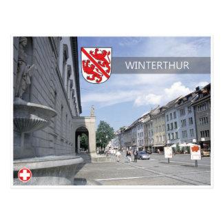 Winterthur - Switzerland Postcard. Postcard
