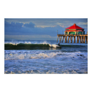 Wintertime Swell Poster