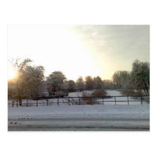 winterview Amsterdam geuzenveld 2.jpg Post Card