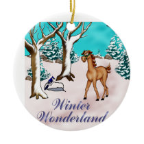 WinterWonderland Ceramic Ornament