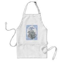 winterwonderland ornament_oval adult apron