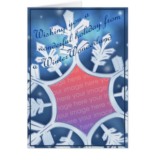 WinterWonderland Snowflake 2nd Attempt Card