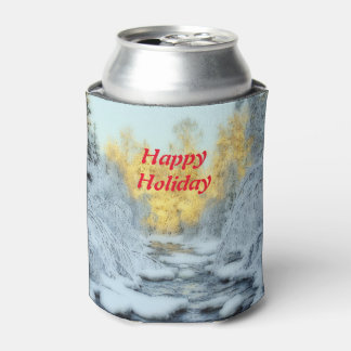 Wintery Stream Can Cooler