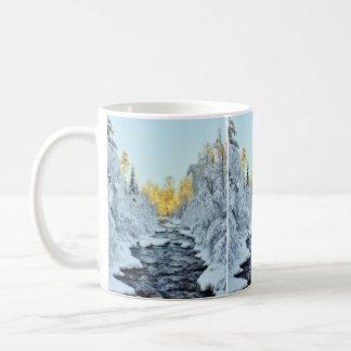 Wintery Stream Coffee Mug