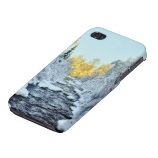 Wintery Stream Covers For iPhone 4