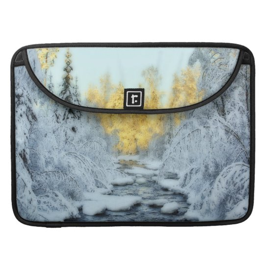 Wintery Stream Sleeve For MacBook Pro