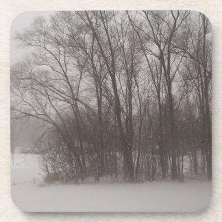 Wintery Trees Coaster