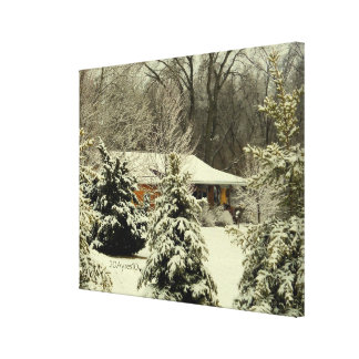 Wintery Warmth Canvas Print