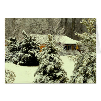 Wintery Warmth Notecard Greeting Cards