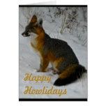 Wintery Wildlife Card