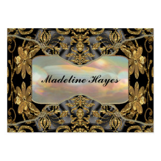 """Winthrop Baroque 2.5"""" Elegant Professional Large Business Cards (Pack Of 100)"""