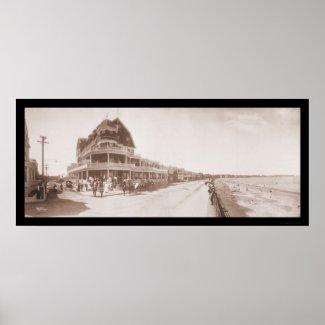 Winthrop, MA Photo 1904 print